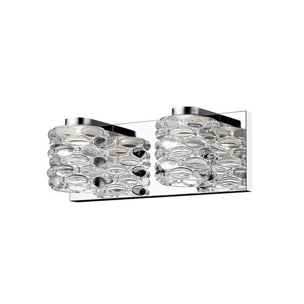 Z-Lite Dawson 2-Light Vanity Light - Chrome