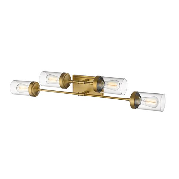 Z-Lite Calliope 4-Light Vanity Light - Brass