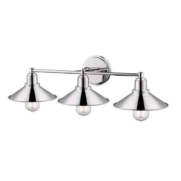 Z-Lite Casa 3-Light Vanity Light - Nickel