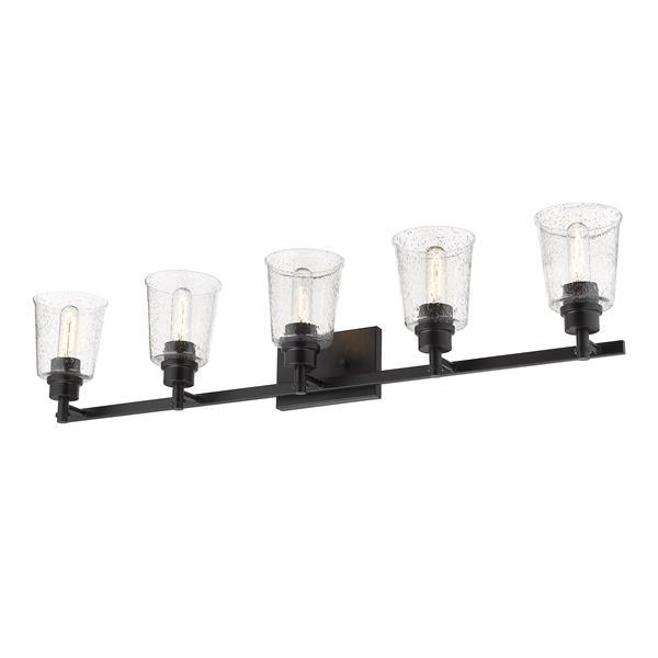 Z-Lite Bohin 5-Light Vanity Light - Black
