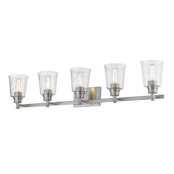 Z-Lite Bohin 5-Light Vanity Light - Nickel