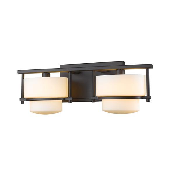 Z-Lite Porter 2-Light Vanity Light - Bronze