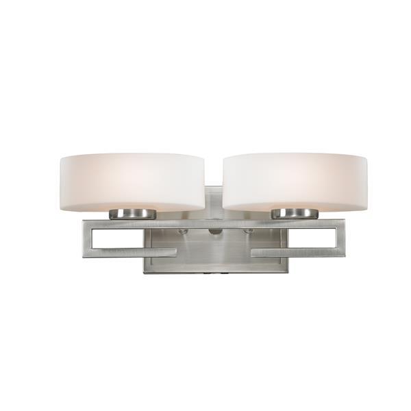 Z-Lite Cetynia 2-Light Vanity Light - Nickel
