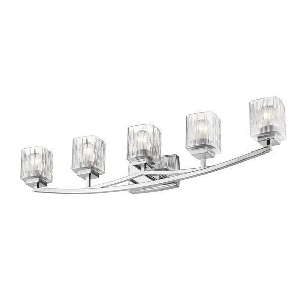 Z-Lite Zaid 5-Light Vanity Light - Chrome