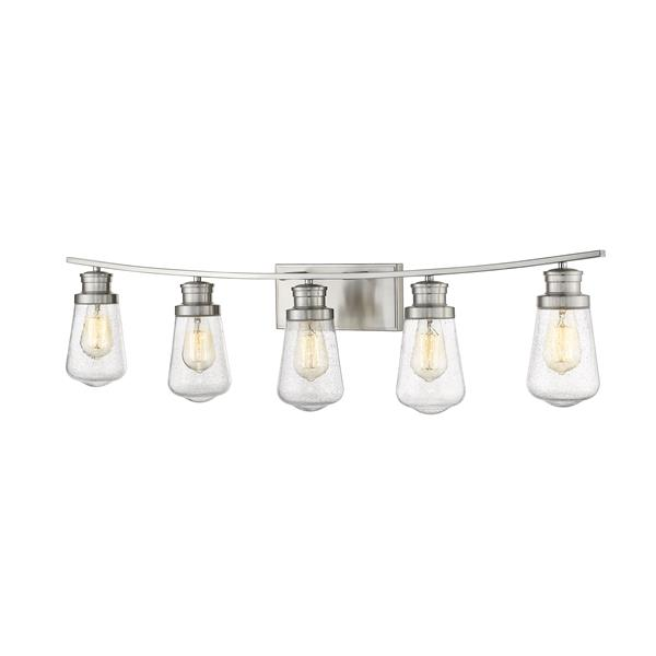 Z-Lite Gaspar 5-Light Vanity Light - Nickel