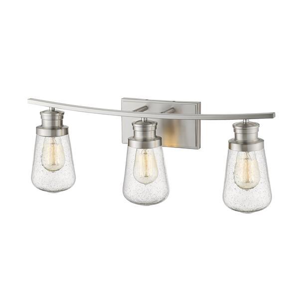 Z-Lite Gaspar 3-Light Vanity Light - Nickel