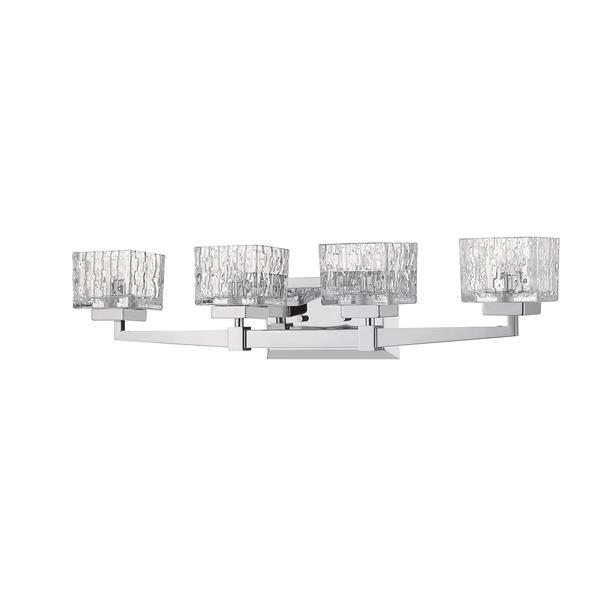 Z-Lite Rubicon 4-Light Vanity Light - Chrome