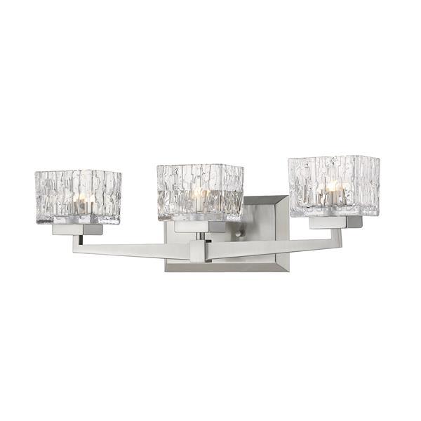 Z-Lite Rubicon 3-Light Vanity Light - Nickel