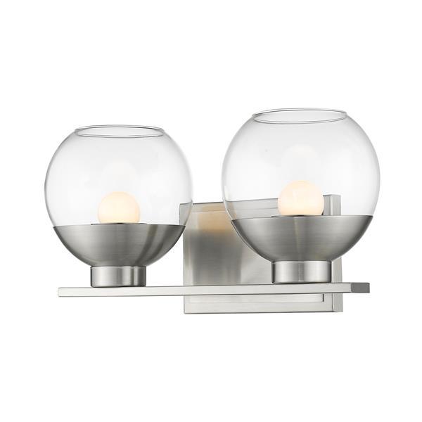 Z-Lite Osono 2-Light Vanity Light - Nickel