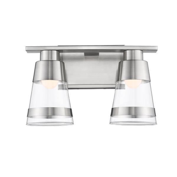 Z-Lite Ethos 2-Light Vanity Light - Nickel
