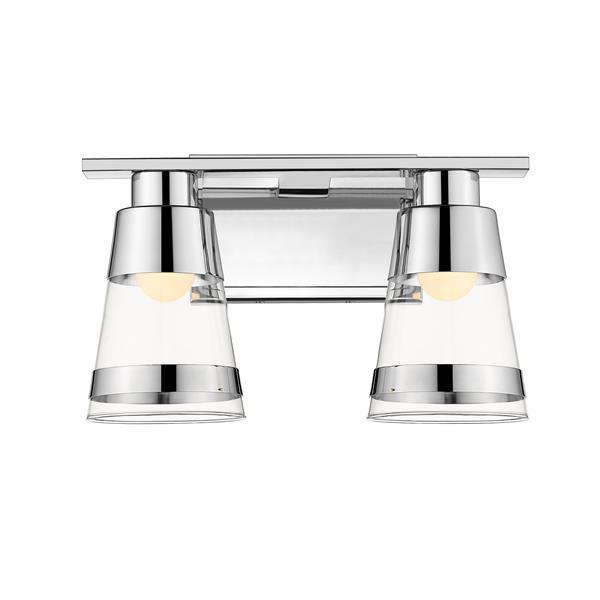 Z-Lite Ethos 2-Light Vanity Light - Chrome