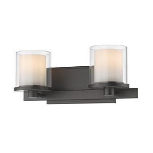Z-Lite Schema 2-Light Vanity Light - Bronze
