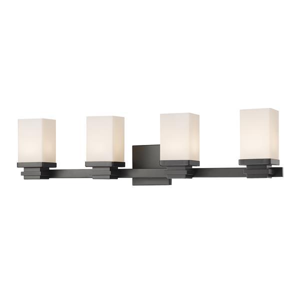 Z-Lite Avige 4-Light Vanity Light - Bronze