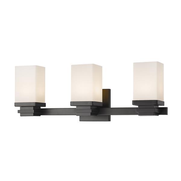 Z-Lite Avige 3-Light Vanity Light - Bronze
