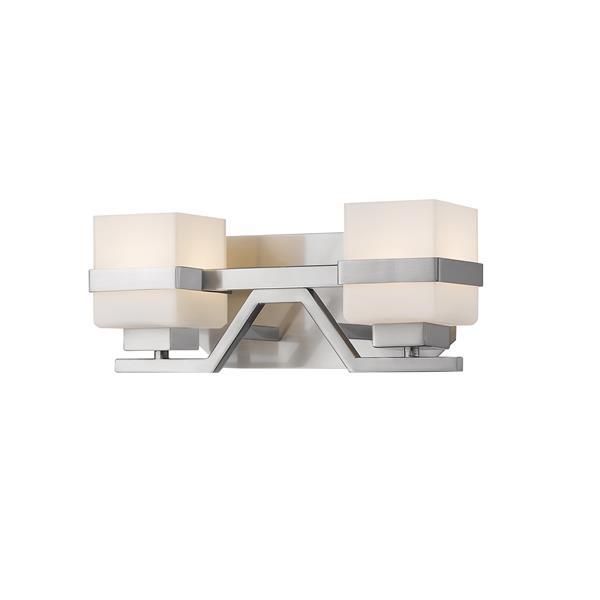 Z-Lite Ascend 2-Light Vanity Light - Nickel