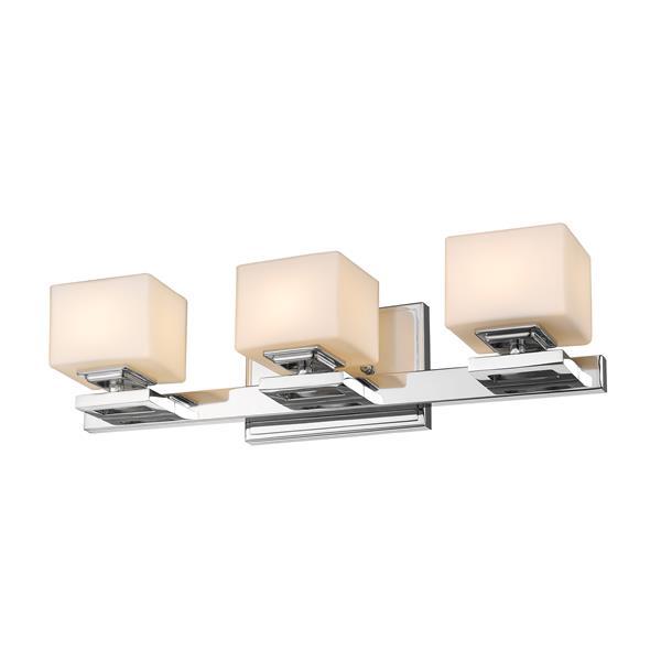 Z-Lite Cuvier 3-Light Vanity Light - Chrome