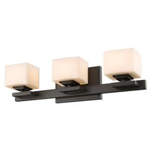Z-Lite Cuvier 3-Light Vanity Light - Bronze