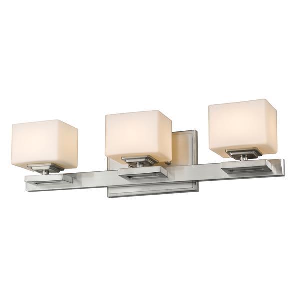 Z-Lite Cuvier 3-Light Vanity Light - Nickel