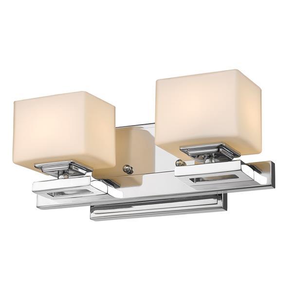Z-Lite Cuvier 2-Light Vanity Light - Chrome