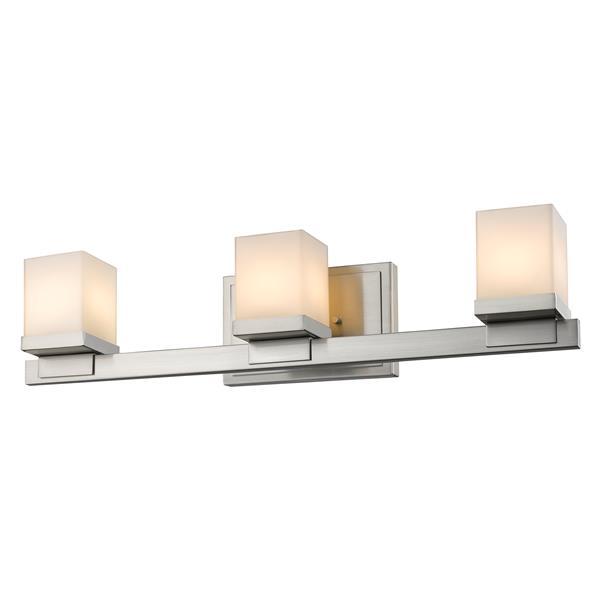 Z-Lite Cadiz 3-Light Vanity Light - Nickel