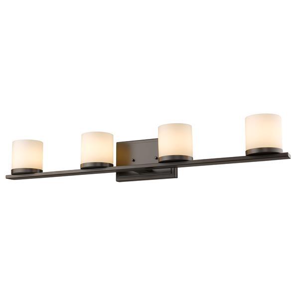 Z-Lite Nori 4-Light Vanity Light - Bronze