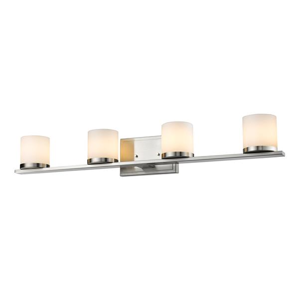 Z-Lite Nori 4-Light Vanity Light - Nickel