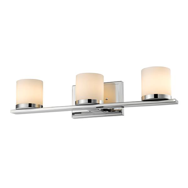 Z-Lite Nori 3-Light Vanity Light - Chrome