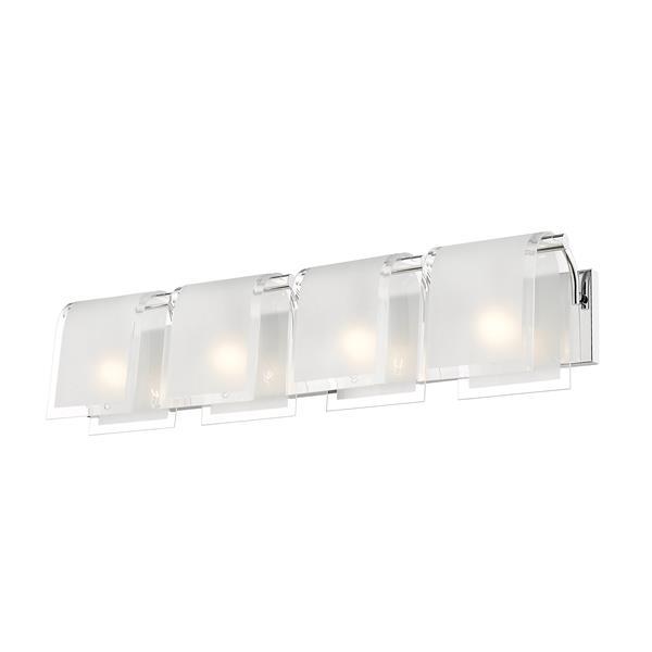 Z-Lite Zephyr 4-Light Vanity Light - Chrome