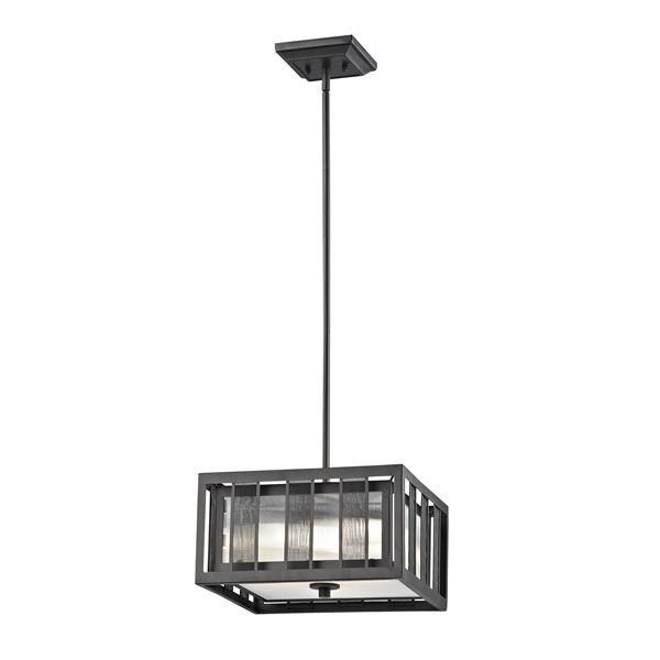Z-Lite Meridional 3-Light Pendant Light - Bronze