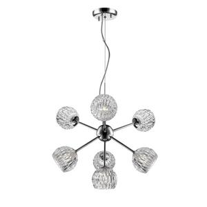 Z-Lite Laurentian 7-Light Pendant Light - Chrome