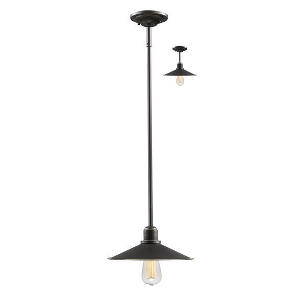 Z-Lite Casa 1-Light Mini Pendant Light - Bronze