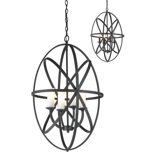 Z-Lite Aranya 4-Light Pendant Light - Bronze