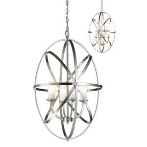 Z-Lite Aranya 4-Light Pendant Light - Nickel
