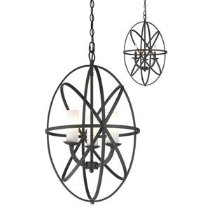 Z-Lite Aranya 3-Light Pendant Light - Bronze