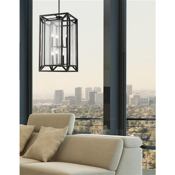 Z-Lite Braum 8-Light Pendant Light - Bronze