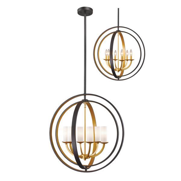 Z-Lite Ashling 6-Light Pendant Light - Gold