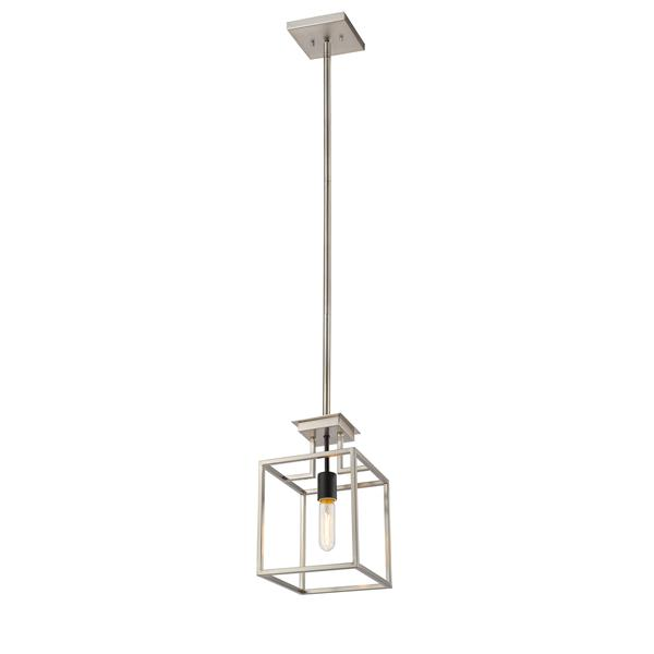 Z-Lite Quadra 1-Light Mini Pendant Light - Multicoloured