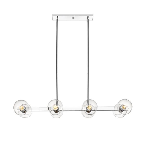 Z-Lite Marquee 8-Light Pendant Light - Chrome