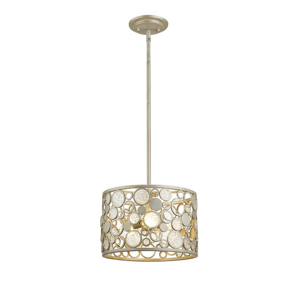 Z-Lite Ariell 3-Light Pendant Light - Grey