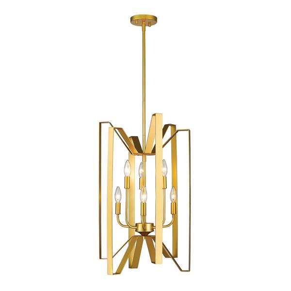 Z-Lite Marsala 6-Light Pendant Light - Gold