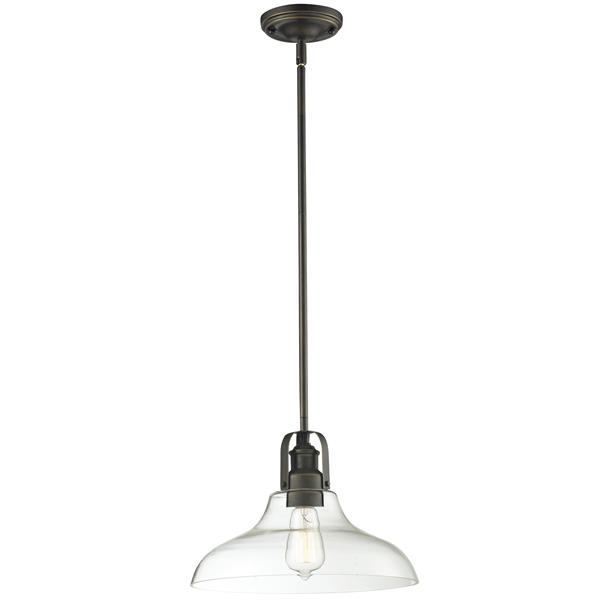 Z-Lite Forge 1-Light Pendant Light - Bronze