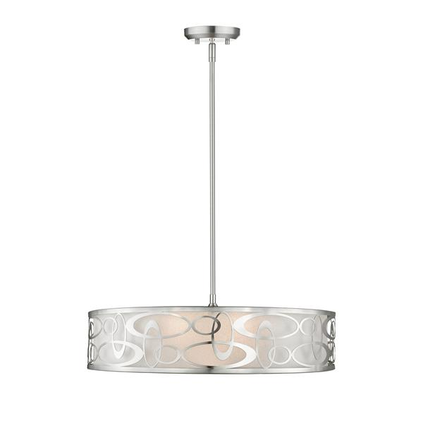 Z-Lite Opal 5-Light Pendant Light - Nickel