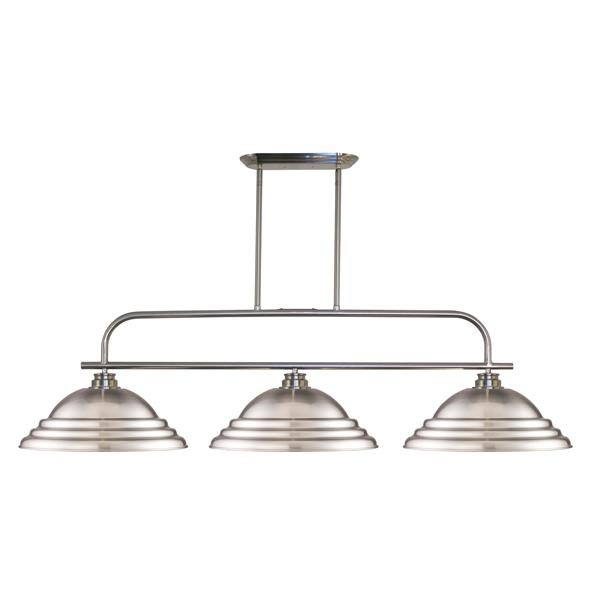 Z-Lite Annora 3-Light Island/Billiard Light - Nickel