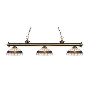 Z-Lite Riviera 3-Light Billiard Light - Nickel