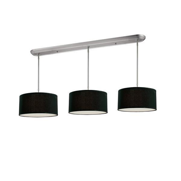 Z-Lite Albion 9-Light Kitchen Island Light - Nickel