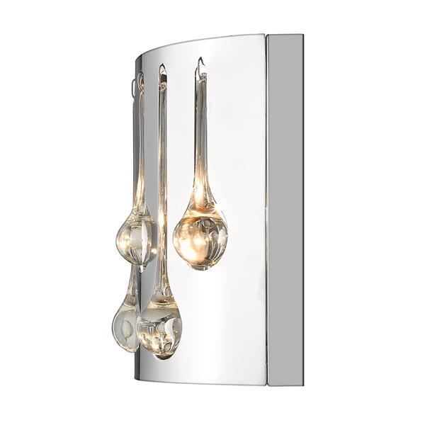 Z-Lite Oberon 2-Light Wall Sconce - Chrome