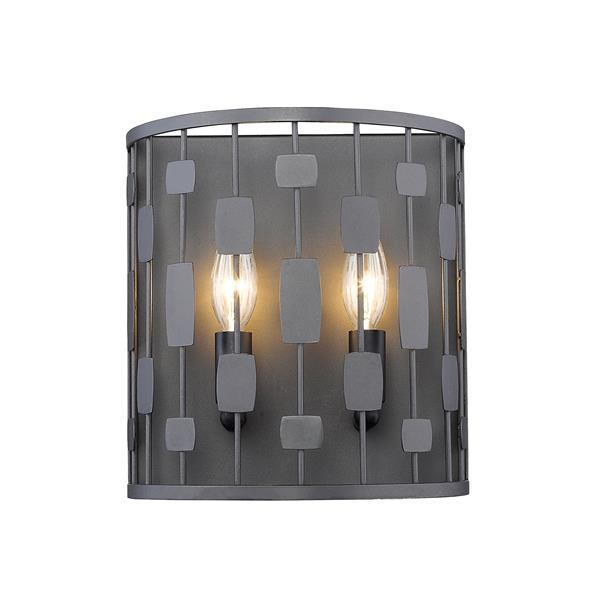 Z-Lite Almet Wall Sconce - 2 Light - Bronze