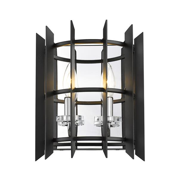 Z-Lite Haake 2-Light Wall Sconce - Chrome