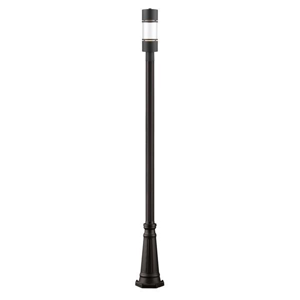 Z-lite Z-Lite Luminata Outdoor LED Post Light - Oil Rubbed Bronze 553PHB-519P-ORBZ-LED