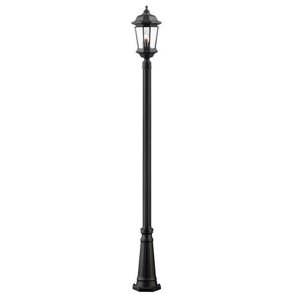 Z-lite Z-Lite Melbourne Outdoor Post Light - Black 540PHB-519P-BK